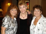 Dottie Aubin Lemoine, Angie Guidry Cooper and Pat Johnson Aubin