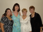 Linda, Gayle, Christine and Angie