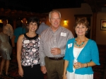 Kindra and Chuck Fletcher and Vicky Berthelot Frazier