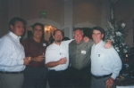 Terry  Hughes, Charlie New, Darrell Guidroz, Jimmy Odom and Rudy Sparks